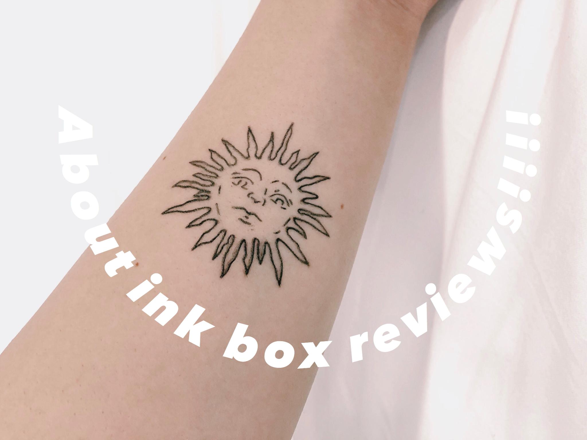 タトゥー インク ボックス